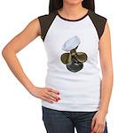 Sailor Hat and Propeller Women's Cap Sleeve T-Shir