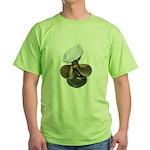 Sailor Hat and Propeller Green T-Shirt