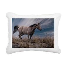 Dune Pony Rectangular Canvas Pillow
