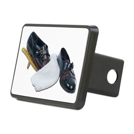 Shoe Shine and Wedge Rectangular Hitch Cover