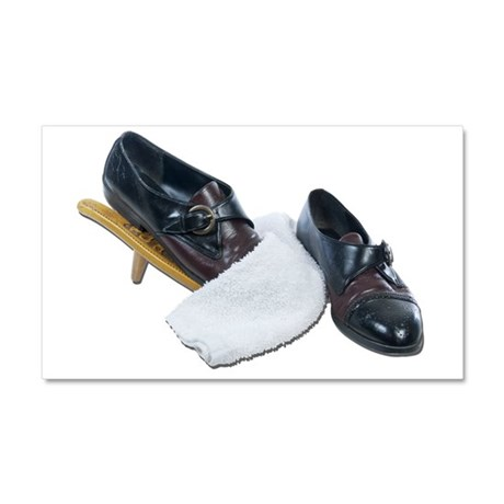 Shoe Shine and Wedge Car Magnet 20 x 12