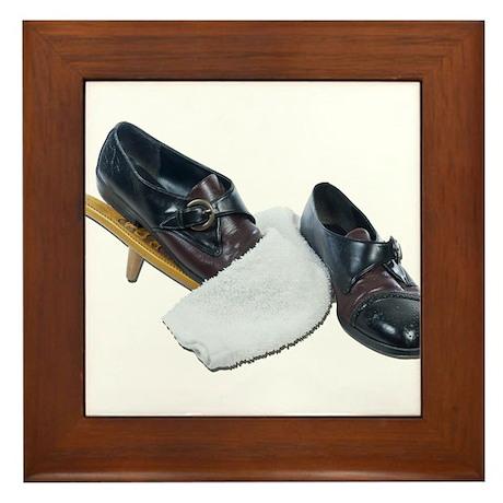 Shoe Shine and Wedge Framed Tile