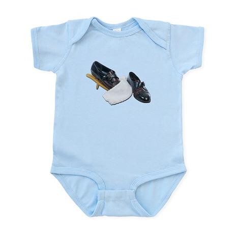 Shoe Shine and Wedge Infant Bodysuit