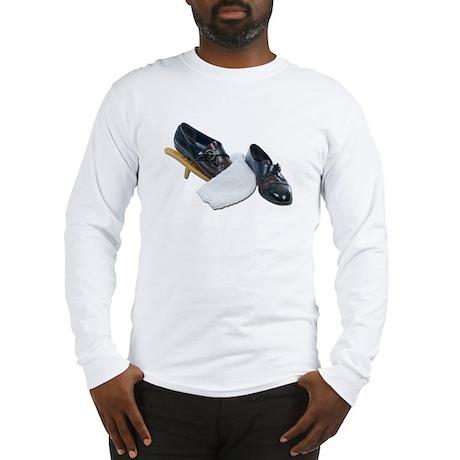 Shoe Shine and Wedge Long Sleeve T-Shirt