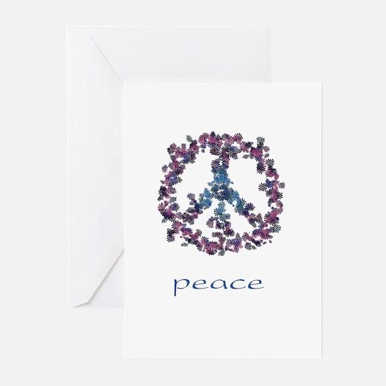 Daydream Flower Peace - Peace Greeting Cards (Pk o