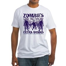 Zombies Love Me Shirt