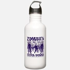 Zombies Love Me Water Bottle
