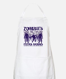 Zombies Love Me Apron