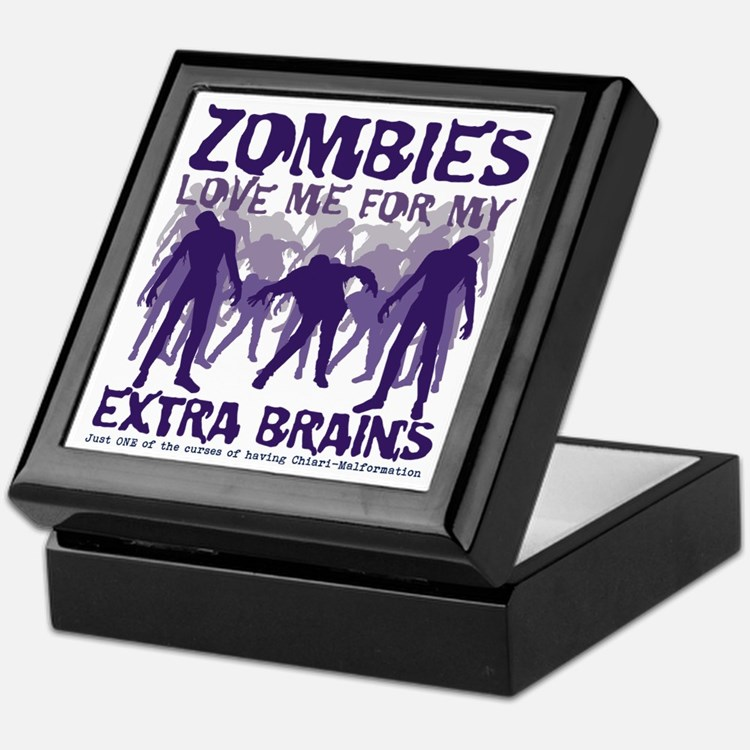 Zombies Love Me Keepsake Box