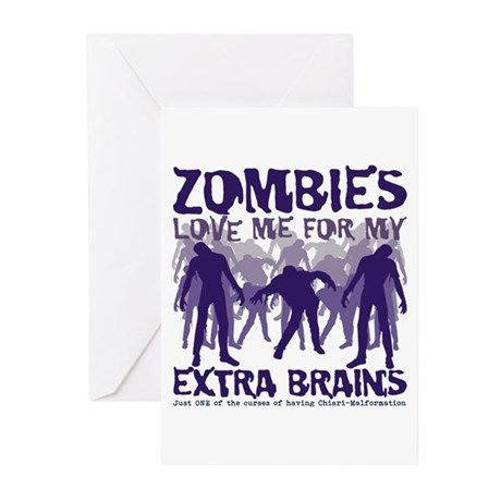 Zombies Love Me Greeting Cards (Pk of 10)