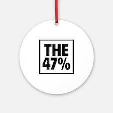 The 47 Percent Ornament (Round)
