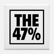 The 47 Percent Tile Coaster