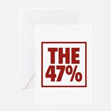 The 47 Percent Greeting Card