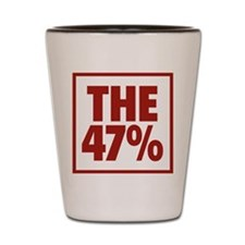 The 47 Percent Shot Glass