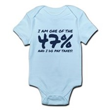 I Am One Of The 47 Percent Infant Bodysuit