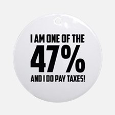 I Am One Of The 47 Percent Ornament (Round)