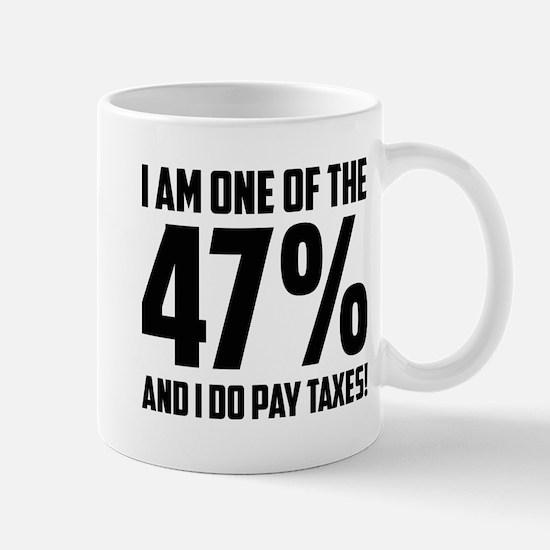 I Am One Of The 47 Percent Mug