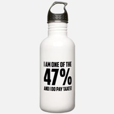 I Am One Of The 47 Percent Water Bottle
