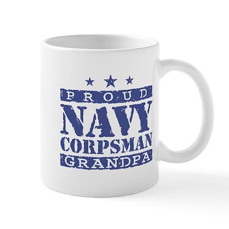 Navy Corpsman Grandpa Mug