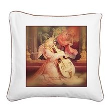 Concert of Angels Square Canvas Pillow