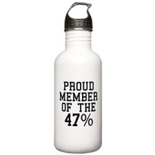 Proud Member Of The 47 Percent Water Bottle