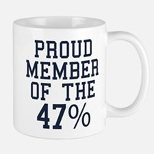 Proud Member Of The 47 Percent Mug