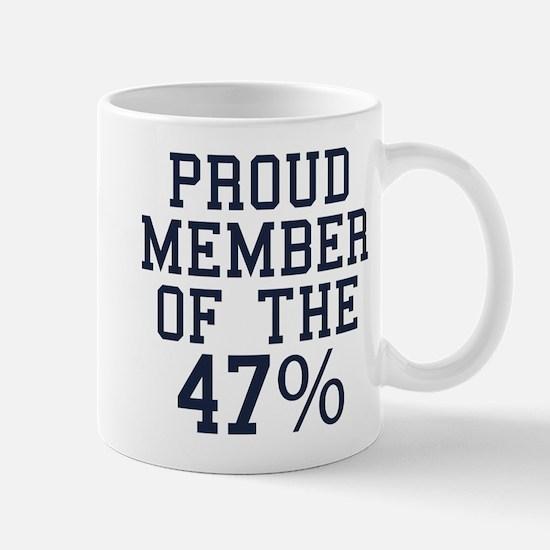 Proud Member Of The 47 Percent Mug