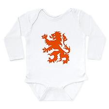 Dutch Lion Long Sleeve Infant Bodysuit