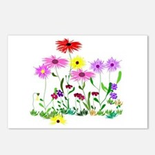 Flower Bunches Postcards (Package of 8)