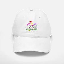 Flower Bunches Baseball Baseball Cap