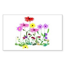Flower Bunches Decal