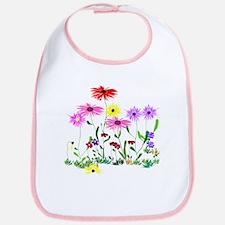 Flower Bunches Bib
