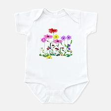 Flower Bunch Infant Bodysuit