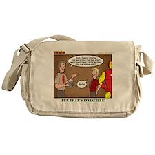 Metal Working Messenger Bag