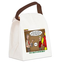 Metal Working Canvas Lunch Bag