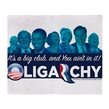 Oligarchy Throw Blanket