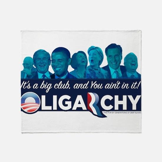 Oligarchy Throw Blanket