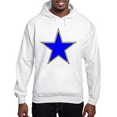 The Blue Star Rising Hoodie