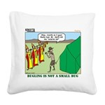 Bugling Square Canvas Pillow