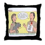 Moon Rover Throw Pillow