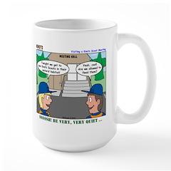 Moving Up Large Mug
