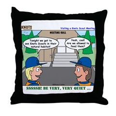 Moving Up Throw Pillow