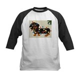 Dachshunds Baseball T-Shirt