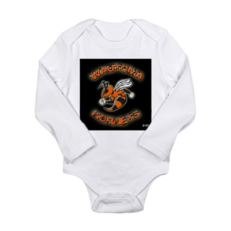 Wautoma Hornets Long Sleeve Infant Bodysuit