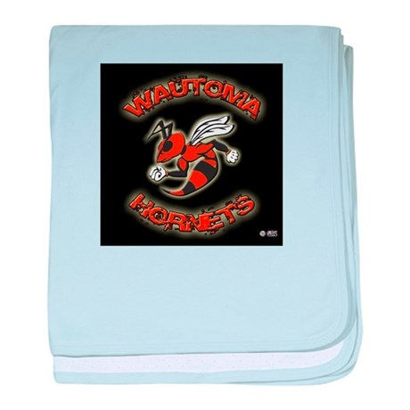 Wautoma Hornets baby blanket