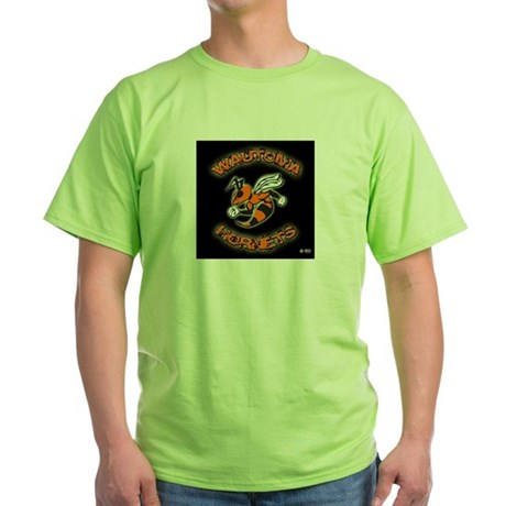 Wautoma Hornets Green T-Shirt