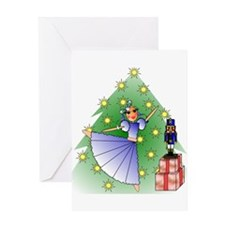 Clara and Nutcracker Greeting Card