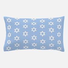 Mogen David (light blue) Matching Stars Pillowcase