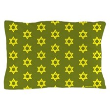 Mogen David (Mossad) Matching Stars Pillowcase