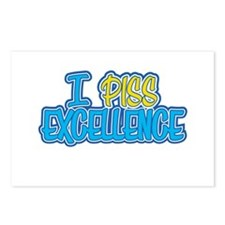 I Piss Excellence Postcards (Package of 8)
